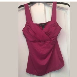 Inc international concepts solid pink top
